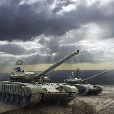 Wallpaper Tank Perang