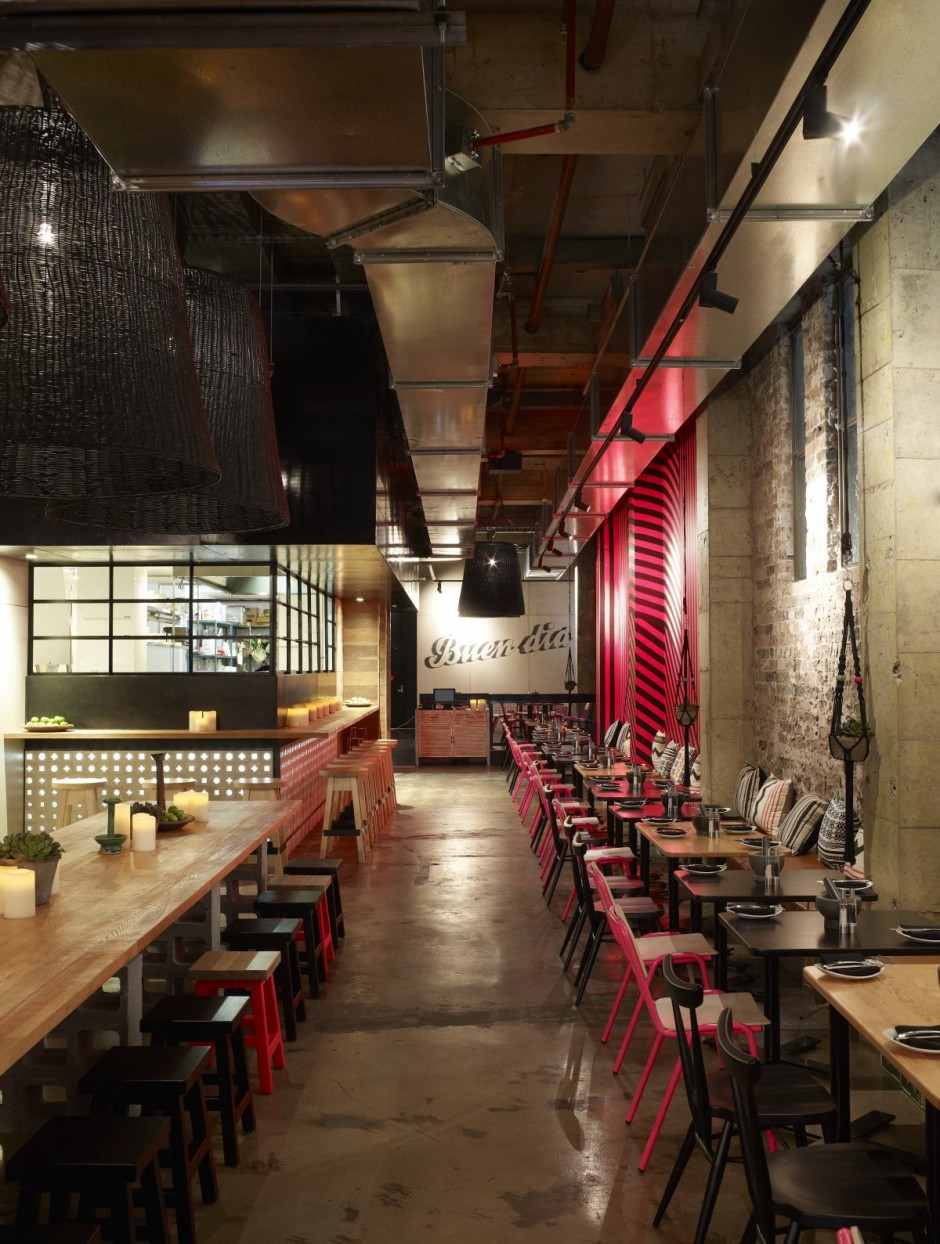 Kaper design restaurant hospitality design inspiration for Experiential design sydney