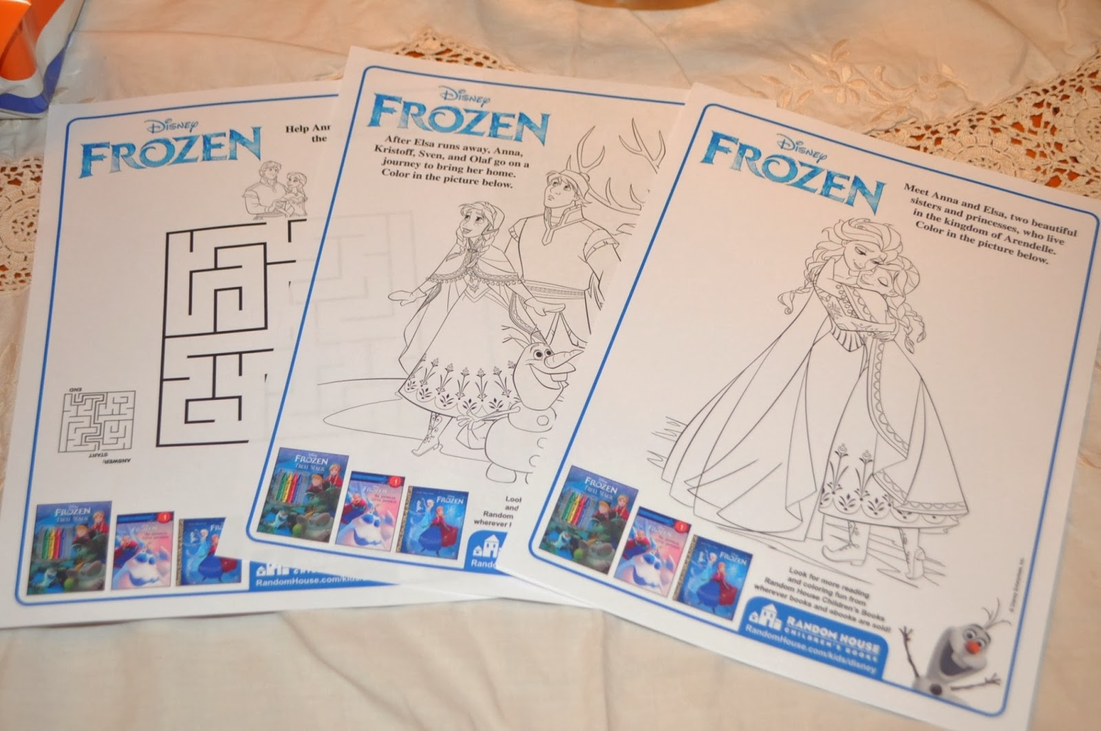 Classical Homemaking Disney FROZEN Party All About