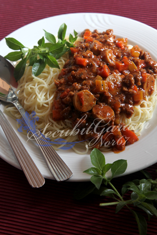 Secubit Garam Angel Hair Bolognese