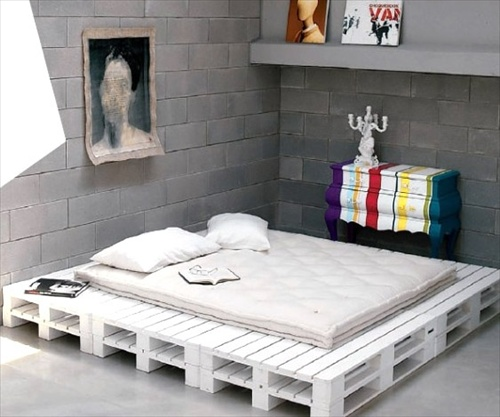 ... DIY Ideas: Best Use of Cheap Pallet Bed Frame Wood - Pallet Furniture