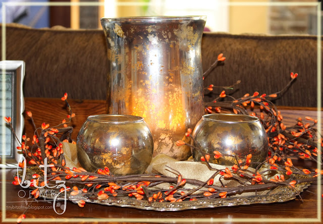 Beautiful diy mercury glass centerpiece, how to make faux mercury glass