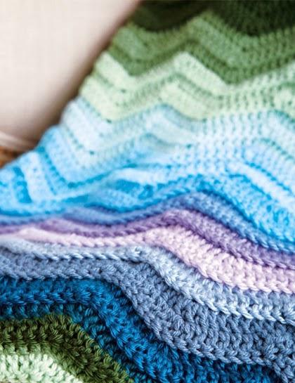 Seafarer's Blanket - FREE Pattern