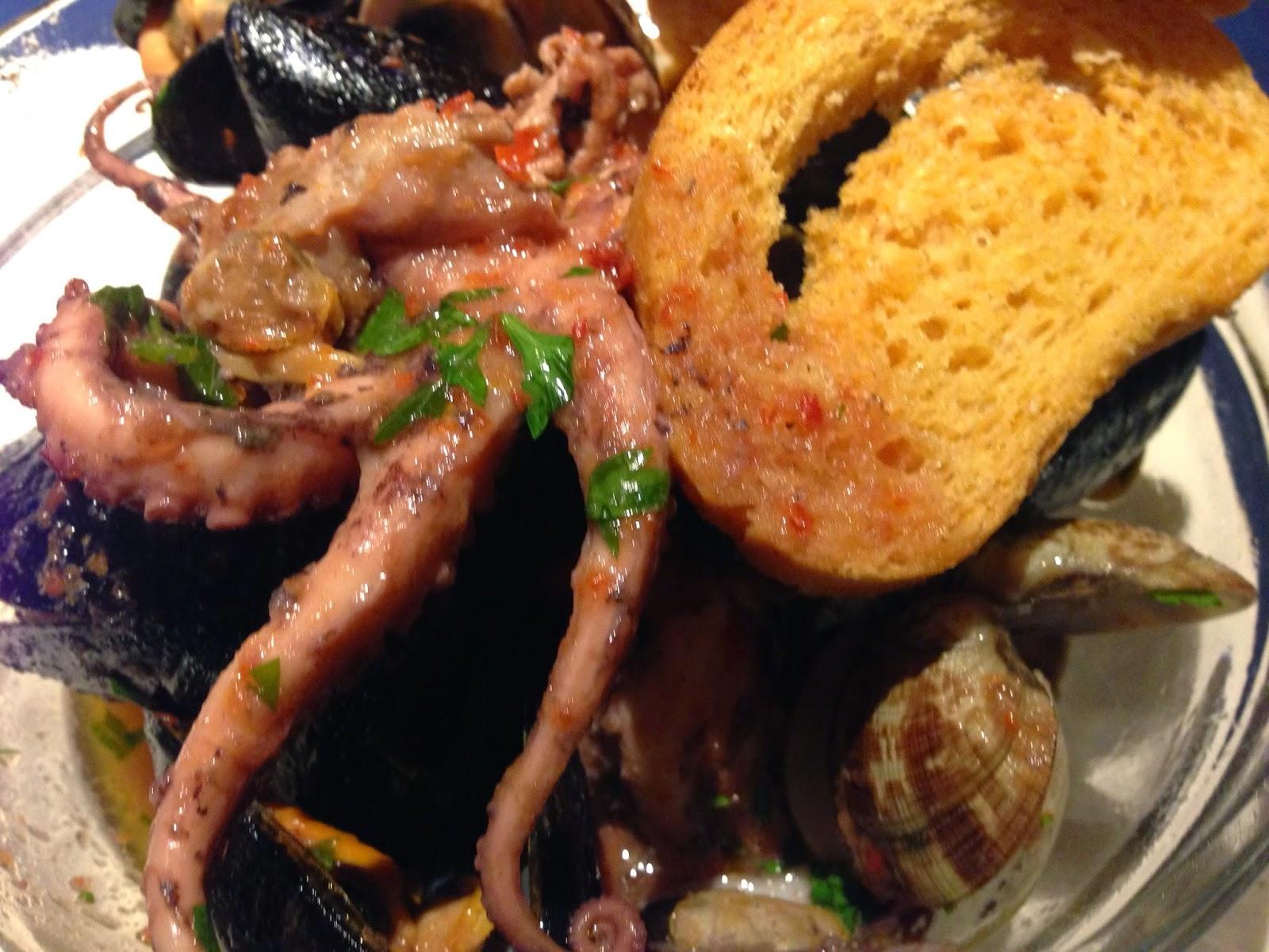 marisquade (zuppa di mare)