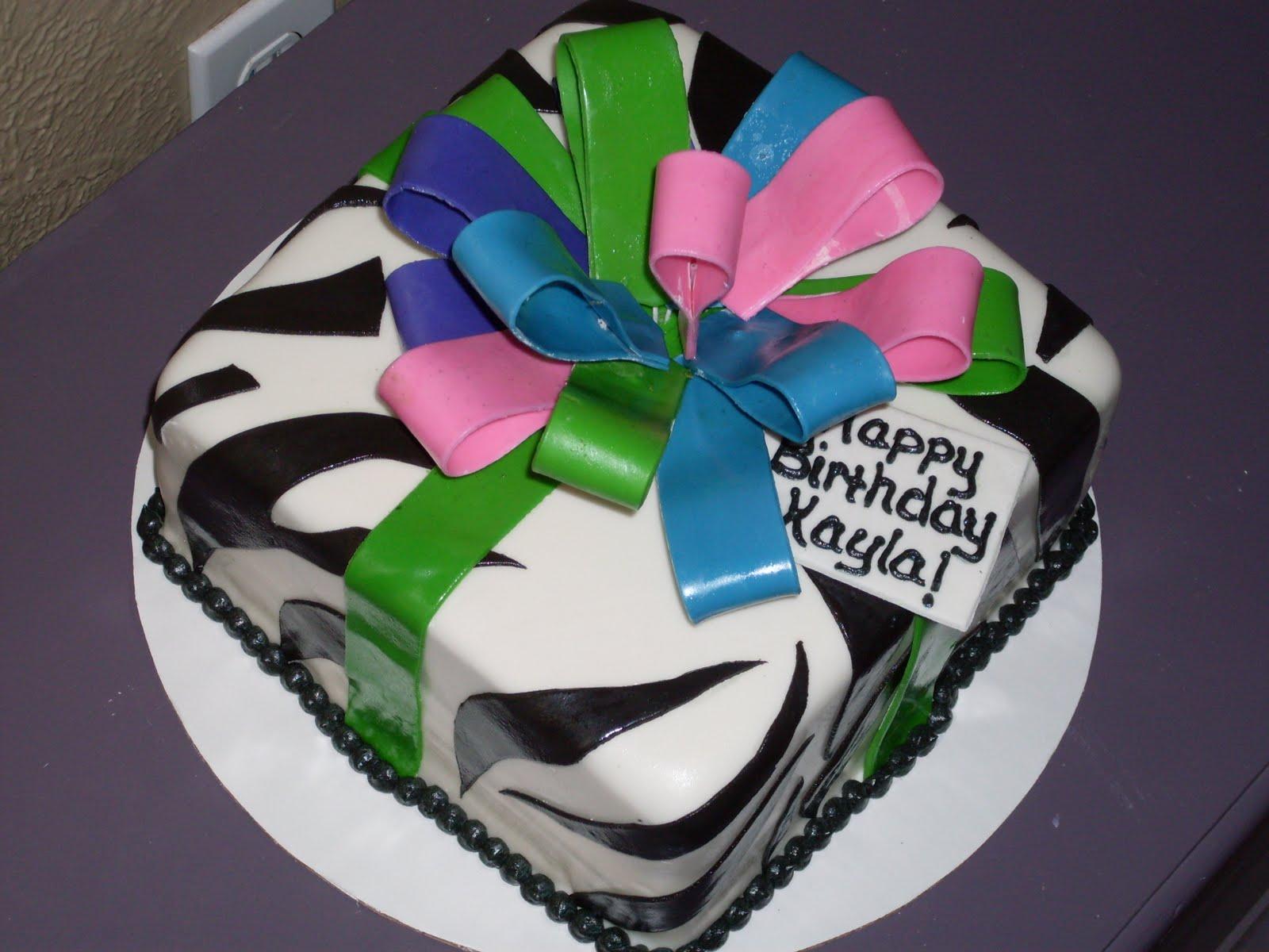 Happy Birthday Rod Cake