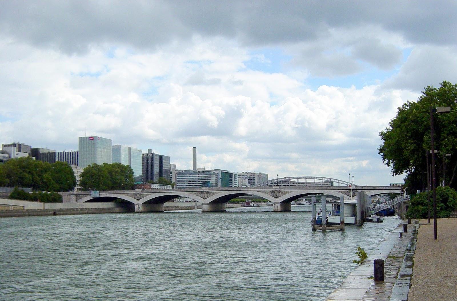 Histoire et g ographie d austerlitz paris d 39 un pont l for Le jardin tino rossi