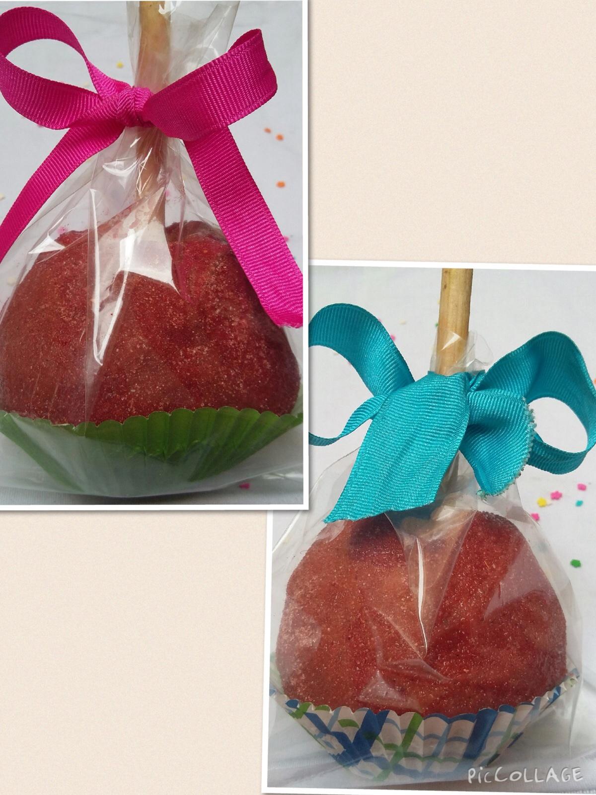 Manzanas cubiertas tamarindo $30
