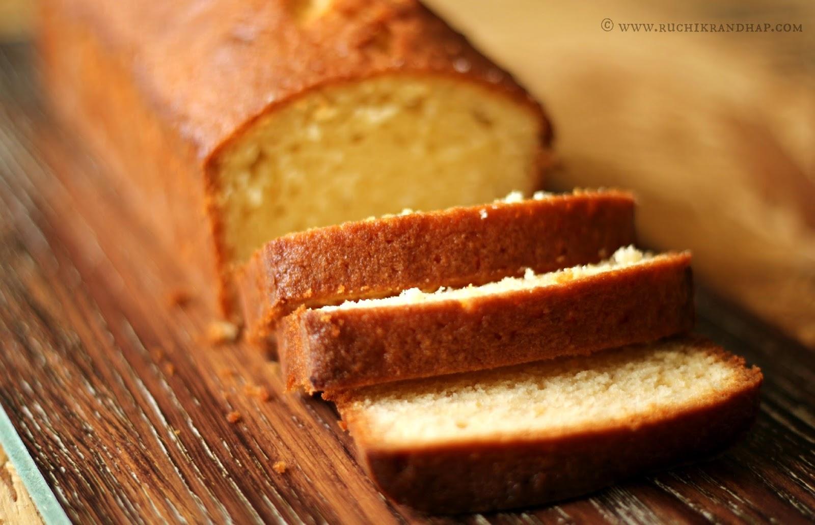 Almond Madeira Cake