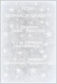 An diesen Weihnachtsmärkten findet ihr mich!