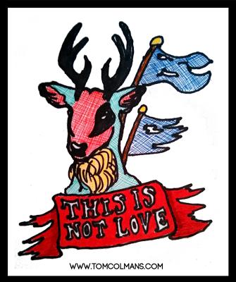 Deer Fuck by Tom Colmans