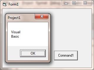 program using vbCrLf constant