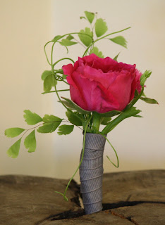 Highlands Country Club Boutonniere - Splendid Stems Event Florals