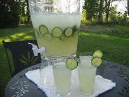 Cucumber Limeade Cooler