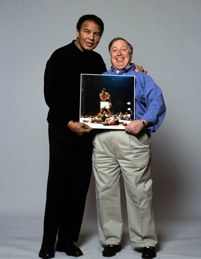 Muhammad Ali and Neil Leifer, 2005