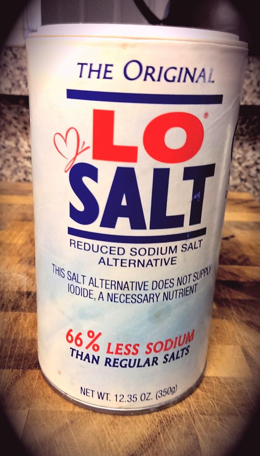 Lo+Salt LoSalt Review - Salt Substitute - Low Sodium Cooking