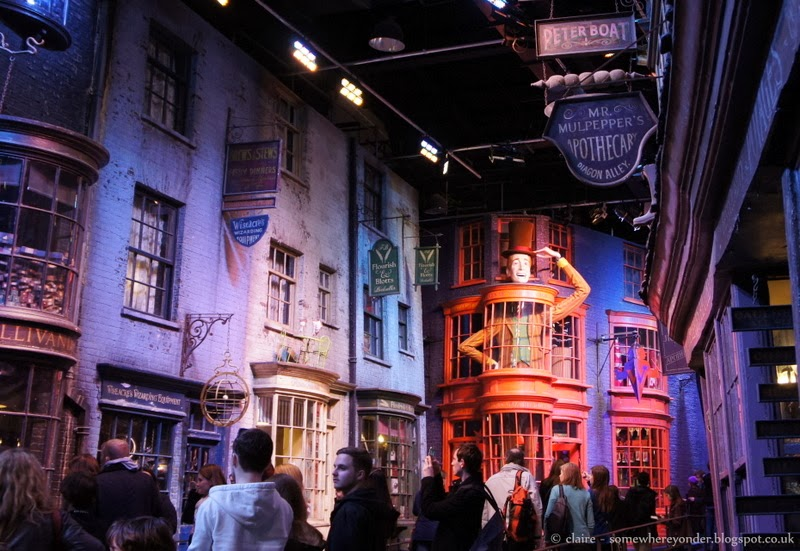Diagon Alley - Harry Potter Warner Bros Studio Tour, Watford