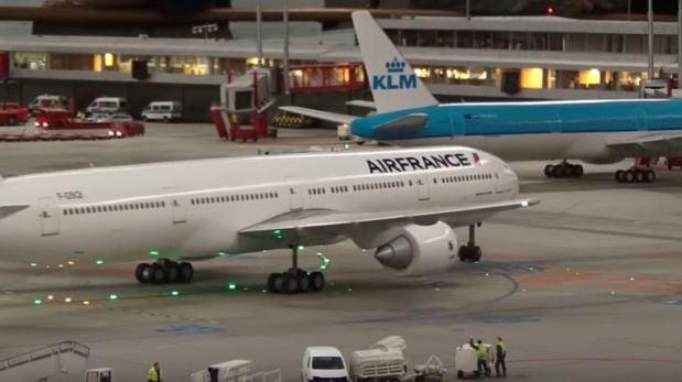 Conoce el aeropuerto en miniatura más grande del mundo