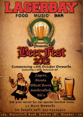 Beer fest 2012 in Bandra Mumbai