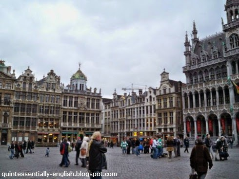 Grand Place in Brussels,Belgium