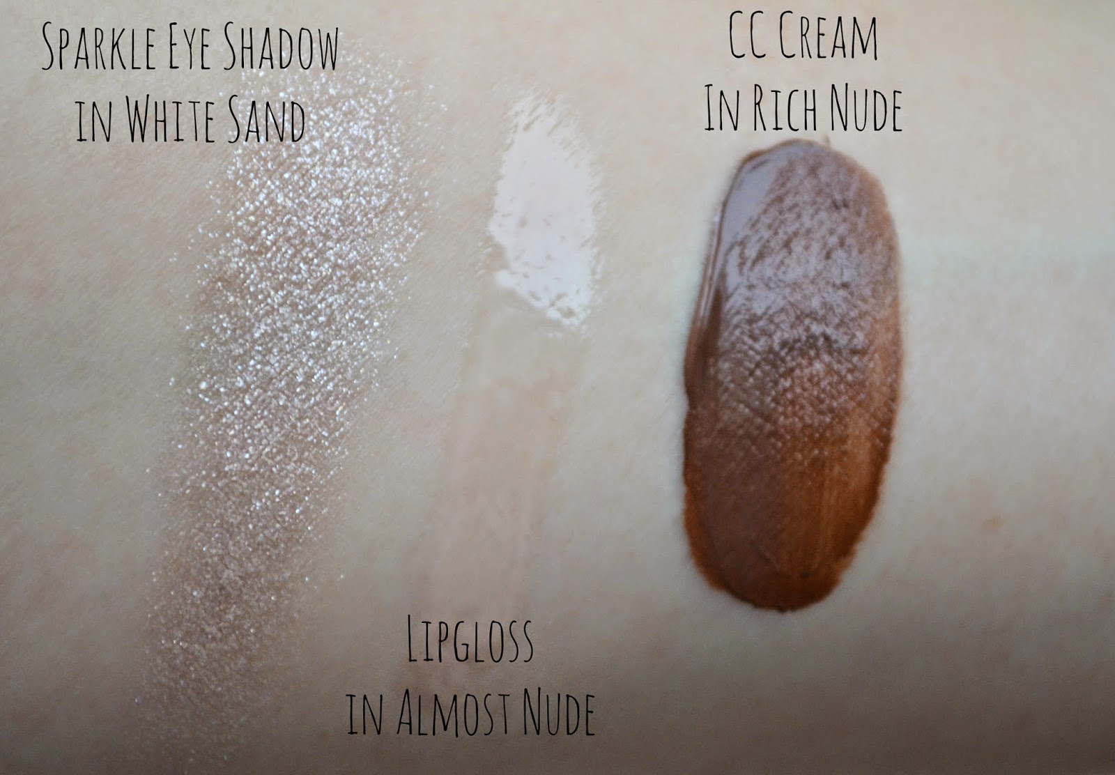 Bobbi Brown Illuminating Nudes Collection swatches