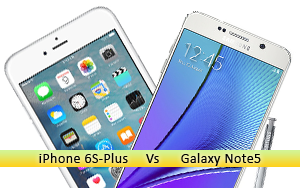 10 Reasons Why Galaxy Note5 is better than iPhone 6S Plus