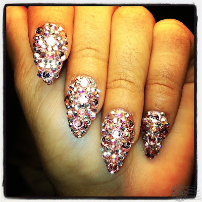 blac chyna nails