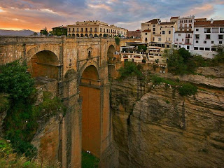 Ronda town has existed sinceronda town