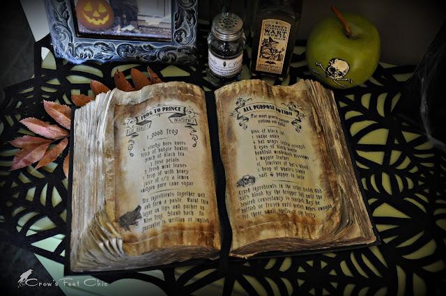 Как сделать книгу заклинаний