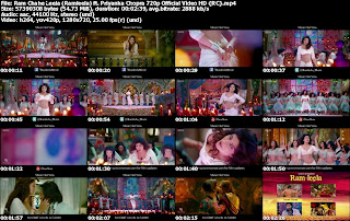 Ram Chahe Leela (Ramleela) ft. Priyanka Chopra 720p Official Video Free Download