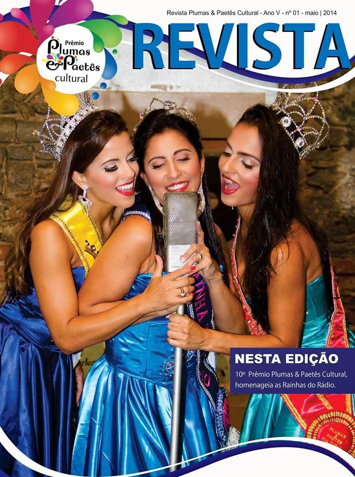 Capa da Revista Plumas e Paetês