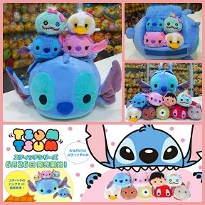 (INSTOCK) Click To See Stitch & Scrump Tsum Tsum Bag Set