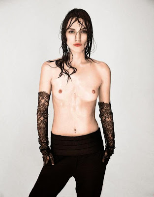 Keira Knightley topless in Interview Magazine September 2014