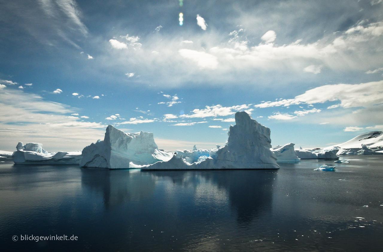 Antarktis Eisberg Landschaft