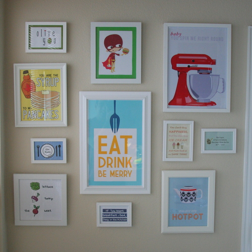 The Paper Heart Studio: Free Printable Kitchen Wall Art