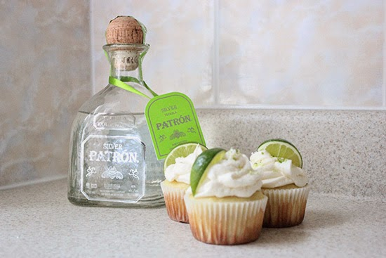 Silver Patron Tequila Cupcake Recipe