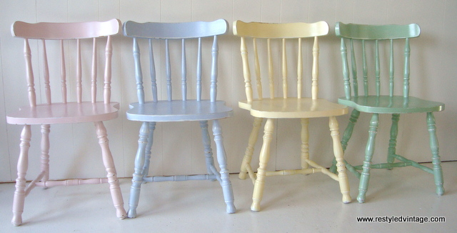 and here they are in all their light bright and pretty pastel glory these colours make me so happy - Pastel Furniture