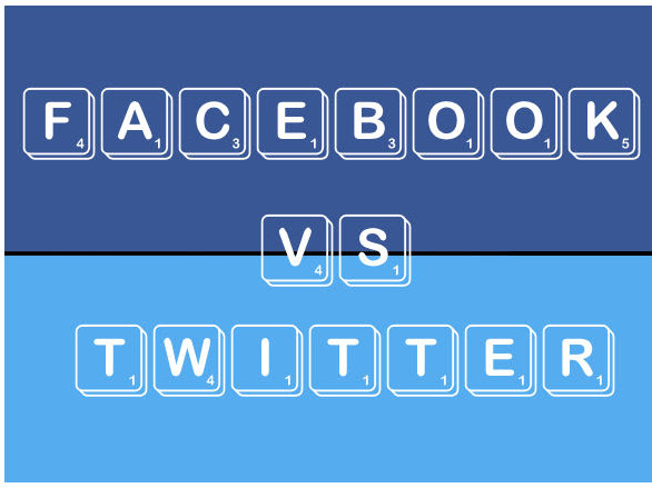 Love/Hate: Facebook vs Twitter