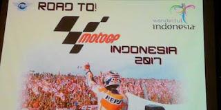 Indonesia Gelar MotoGP 2017