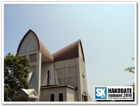 Hakodate Japan - St. John's Church 函館聖ヨハネ教会 in Motomachi