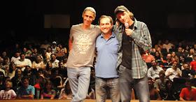 Com Richard Godoy e Márcio Américo