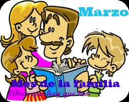 MES DE LA FAMILIA (MARZO)
