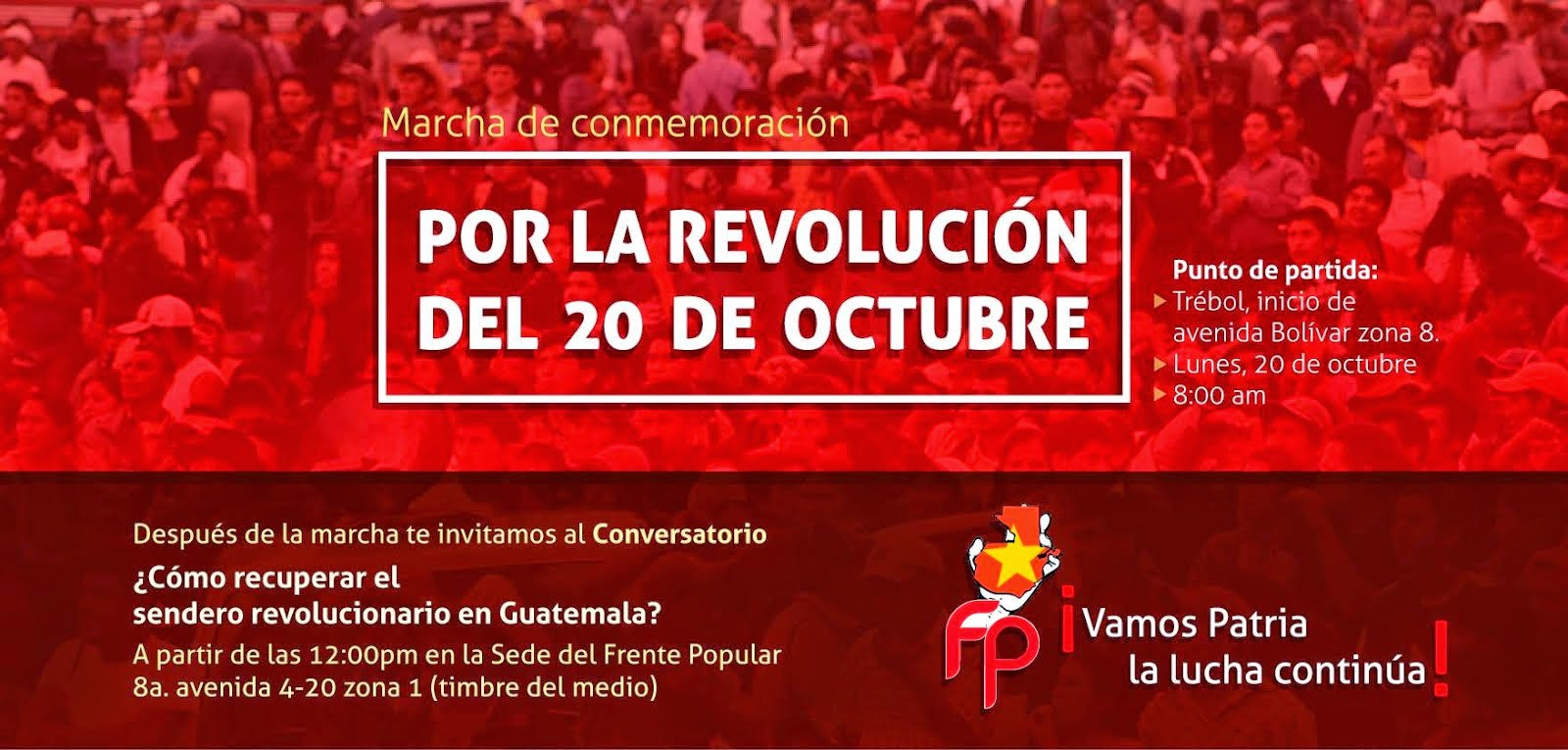 MARCHA DEL 20 DE OCTUBRE