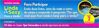 Concurso Cultural 'Linda & Sexy para o Verão'