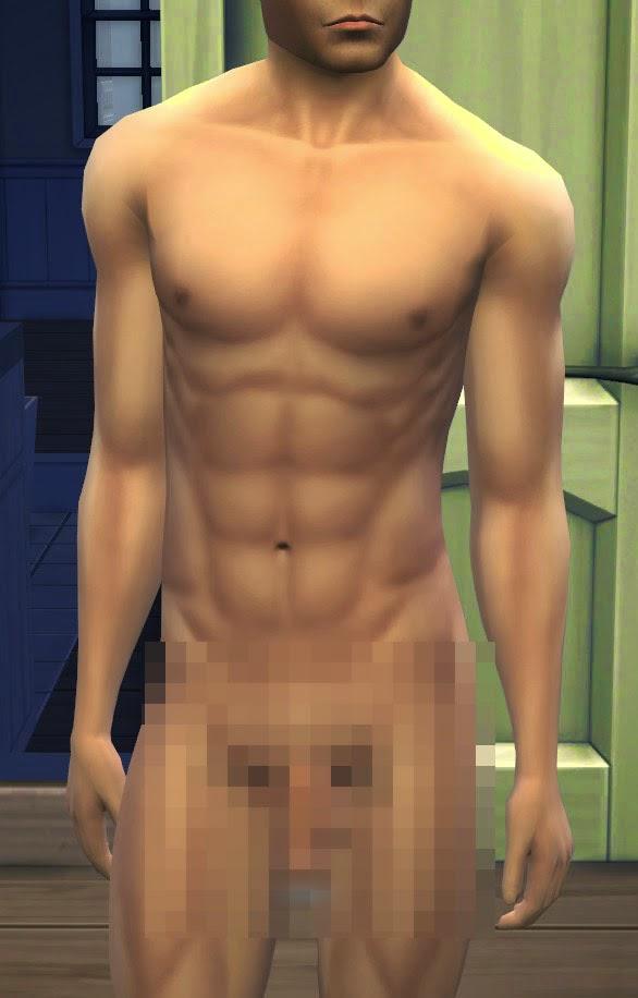 Sims 2 nude men
