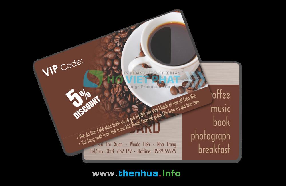 VIP Card Giảm Giá Cafe