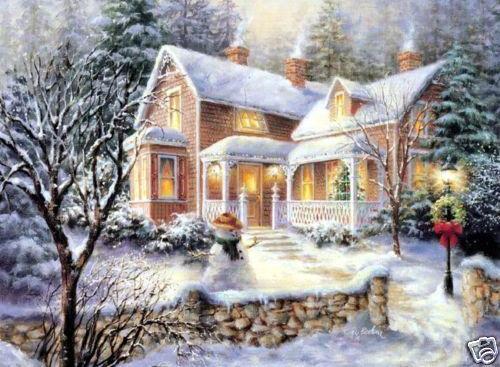 christmas natural art