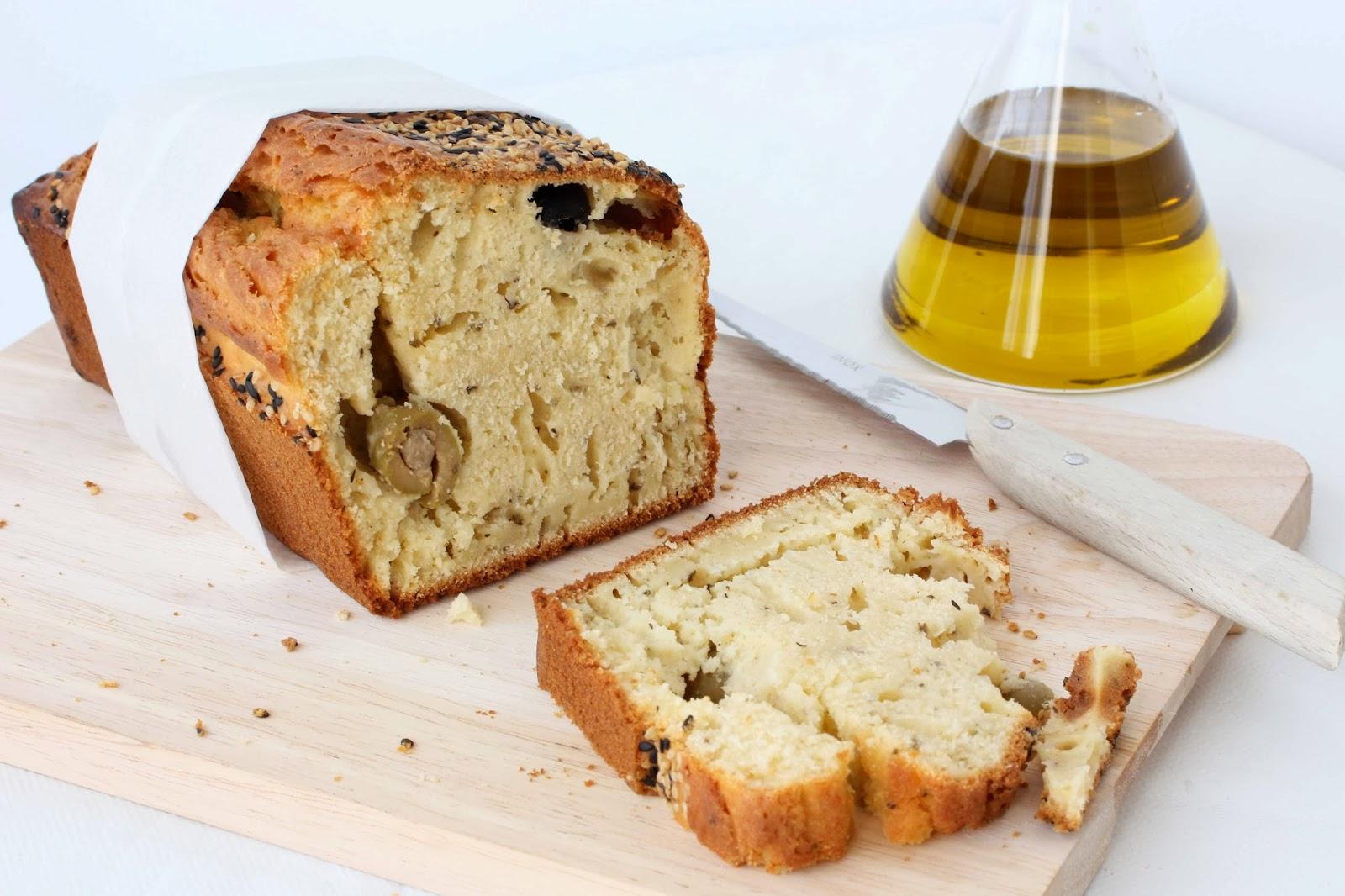 Cake Sal Ef Bf Bd Olives Poires Des De Jambon