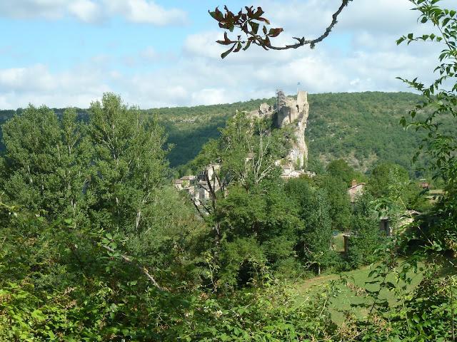 [CR] Bruniquel (82), Gorges de l'Aveyron le 09 juillet 2015. P1070549