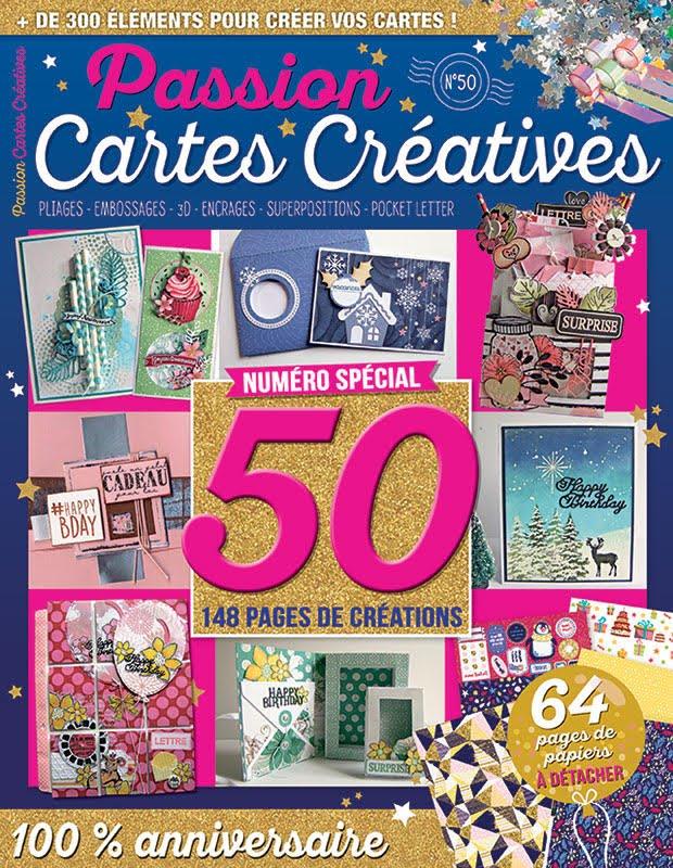 Retrouvez moi dans le magazine Passion Cartes créatives