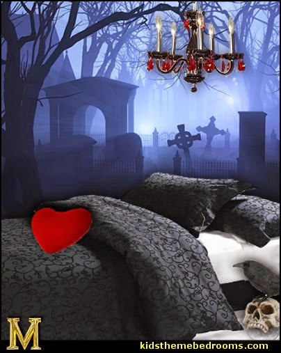 Design A Gothic Teen Bedroom Gothic Teen Bedroom : gothic bedroom design ideas-decorating gothic theme bedrooms